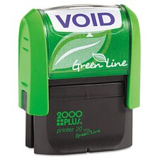 <strong>Consolidated Stamp</strong> 2000 Plus Green Line Self-Inking Message Stamp
