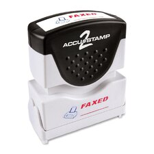 """Faxed"" Shutter Stamp"
