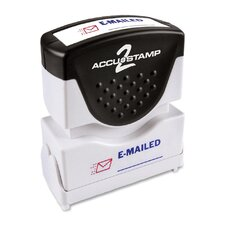 """E-mailed"" Shutter Stamp"