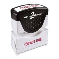 """Past Due"" Shutter Stamp"