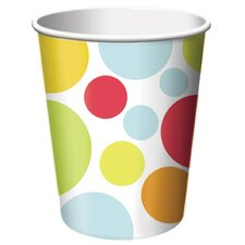 9 Oz. Chic Birthday Hot and Cold Cup (8 Count)