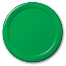"6.75"" Lunch Paper Plate (24 Count)"