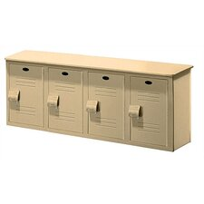 <strong>Lenox Plastic Lockers</strong> Locker Bench - 4 Ft