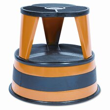 Kik-Step Two-Step Steel Step Stool, 500Lb Duty Rating