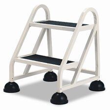 Stop-Step Aluminum Ladder 2-Step Step Stool