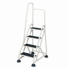 Cramer 4-Step Stop-Step Folding Handrail Step Stool
