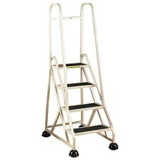 4-Step Handrails Step Stool
