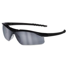 Dallas Wraparound Safety Glasses, Gray Indoor/Outdor Lens