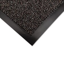 Cross-Over Indoor/Outdoor Wiper/Scraper Mat, Olefin/Poly, 48X72, Brown