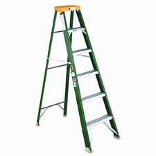 6' Louisville #592 Folding Step Ladder