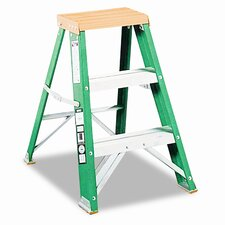 Louisville #624 Folding Locking 2-Step Step Stool