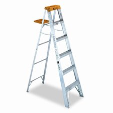 6' Louisville #428 Folding Step Ladder