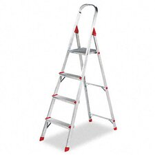 Louisville #566 Four-Foot Folding Aluminum Euro Platform Ladder