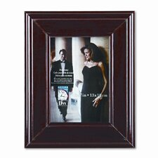 "Executive Document/Photo Wood Frame, Desk/Wall Mount, 5"" x 7"""