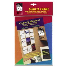 Photo/Document Cubicle Picture Frame with Magnet/Velcro
