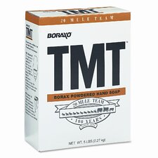 Boraxo TMT Powdered Hand Soap, Unscented Powder, 5lb Box