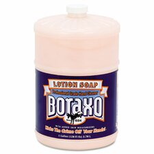 Boraxo Liquid Lotion Soap, Pink, Floral Fragrance, 1-gal Bottle, 4/Carton