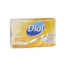<strong>Dial® Complete®</strong> Antibacterial Deodorant Bar Soap Individually Wrapped in Gold