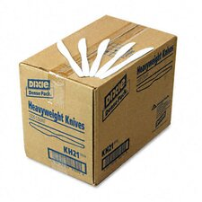 Plastic Cutlery, Heavyweight Knives, 1000/Carton