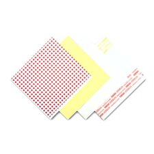 Menu Tissue Untreated Paper Sheets in White