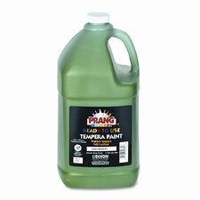 Ready-to-Use Tempera Paint, Green, One Gallon