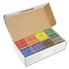 Prang Crayons Made with Soy, 800/Carton