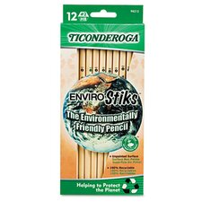 Ticonderoga Envirostiks Pencil, Hb #2, 12/Box