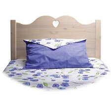 Scalloped Heart Panel Twin Headboard