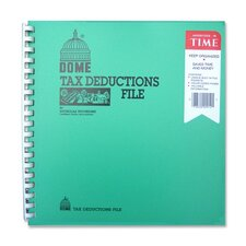 "Tax Deduction File, w/ Pockets, 11""x9-3/4"""