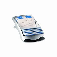 Visifix Desk Business Card File Holds 200 Cards