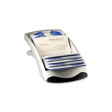 <strong>Durable Office Products Corp.</strong> Visifix Desk Business Card File Holds 200 Cards