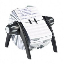 <strong>Durable Office Products Corp.</strong> Telindex Rotary Address Card File Holds 500 Cards