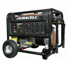 Duracell Portable Powered 6000 Watt Gasoline Generator with Recoil Start