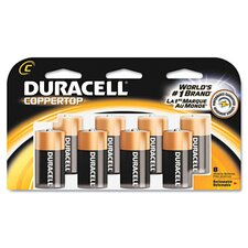 C-Cell Coppertop Alkaline Batteries