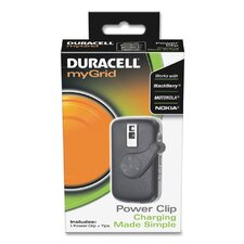 <strong>Duracell</strong> myGrid Power Clip Cell Phone Charger