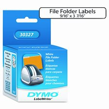 30327 1-Up File Folder Labels, 260/Box