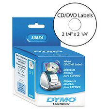 <strong>Dymo Corporation</strong> Cd/Dvd Labels, 160/Box