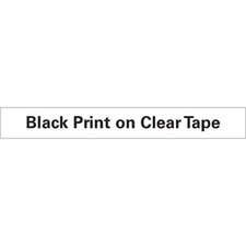"D1 Standard Tape Cartridge for Label Makers, 0.25"" x 23'"