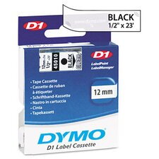 "<strong>Dymo Corporation</strong> D1 Standard Tape Cartridge for Label Makers, 0.5"" x 23'"