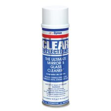Aerosol Glass Cleaner, 20 oz, Residue-free