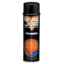 Natural Force® Foaming Degreasers - natural force citrus degreaser 20 oz aerosol (Set of 12)