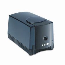 Deluxe Heavy-Duty Desktop Electric Pencil Sharpener, Black/Gray