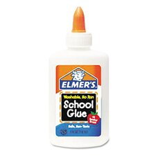Washable School Glue Liquid, 4 Oz