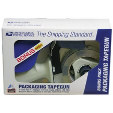 <strong>Lepages</strong> Clear Packaging Tape With Tape Gun 82227