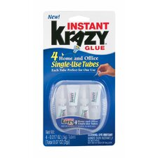 Instant Krazy Glue Single Use Tube