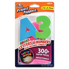 Jumbo Repositionable Letters and Numbers