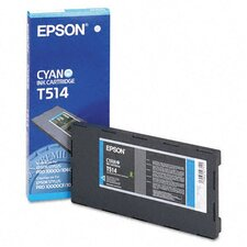 T514011 OEM Ink Cartridge, 500 Page Yield, Cyan
