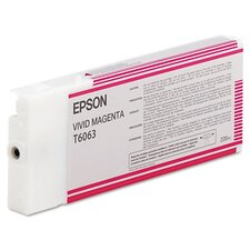 T606300 OEM Ink Cartridge, 220 Page Yield, Magenta