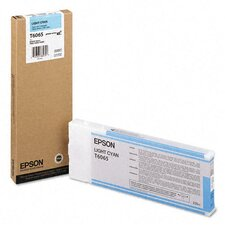 T606500 OEM Ink Cartridge, 220 Page Yield, Cyan