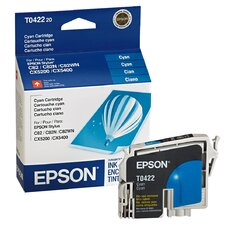 T042220 OEM Ink Cartridge, 420 Page Yield, Cyan